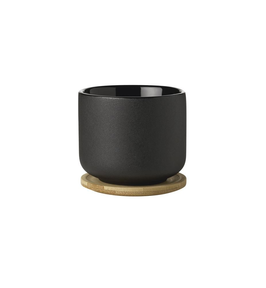 THEO CUP WITH COASTER