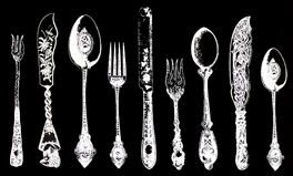 Vitage Silverware Ranges