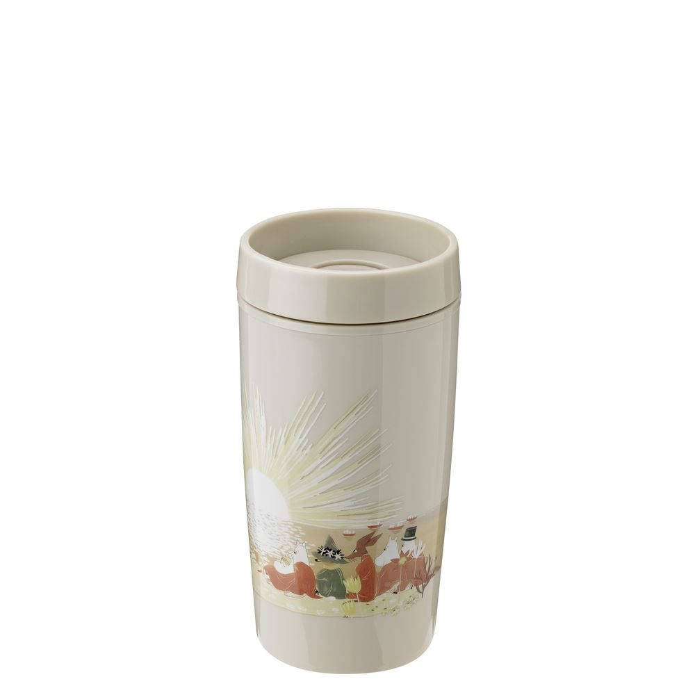 BRING IT TO GO CUP  0 34 L  SAND MOOMIN