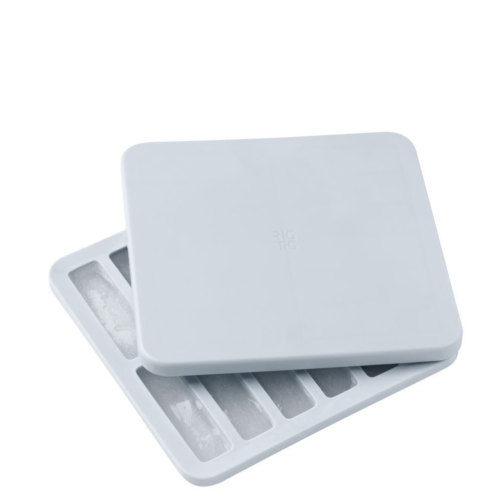FREEZE IT ICE CUBE TRAY WITH LID  SMALL  LIGHT BLUE