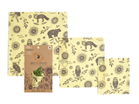 BEES WRAP INTO THE WOODS 3 PACK ASSORTED