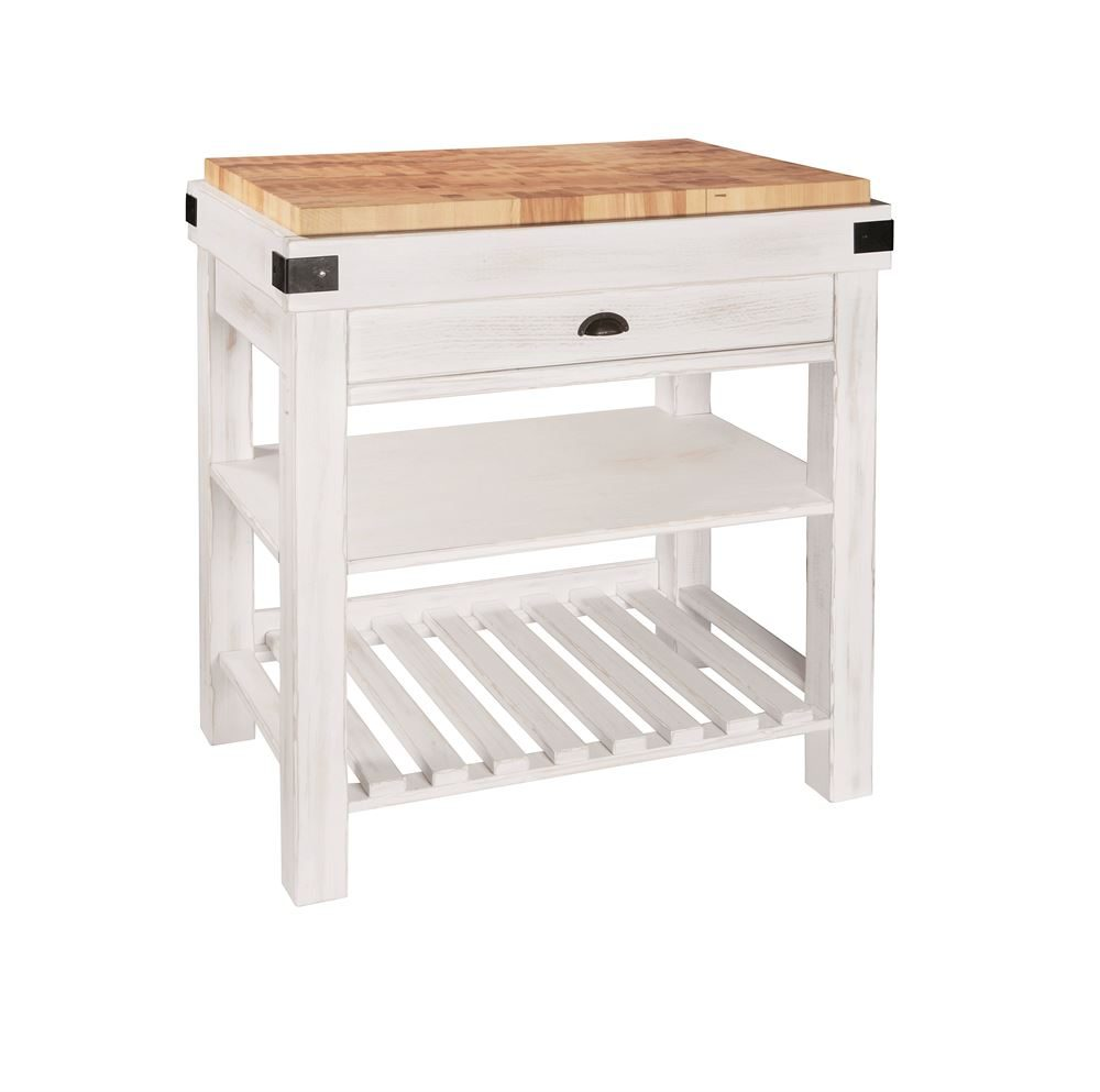 43M1800 - Foxhill Kitchen Trolley Angle