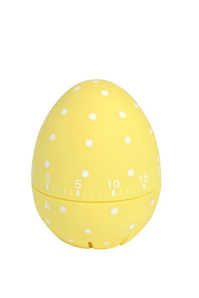 SOFT TOUCH DOTTY TIMER YELLOW