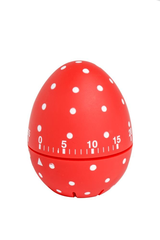 SOFT TOUCH DOTTY TIMER RED